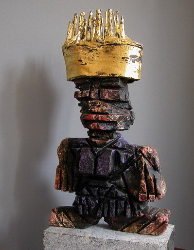 kalugalla-crowned-princess-sri-lanka-contemporary-sculpture-modern-art
